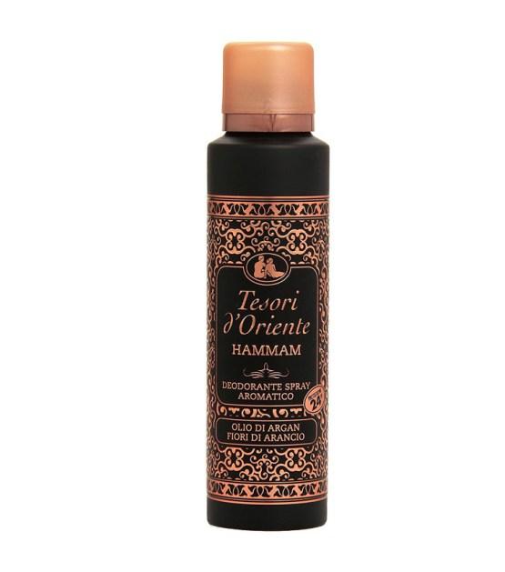 TESORI D'ORIENTE HAMMAM deodorante spray aromatico 150ml