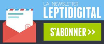 newsletter actualités digitales LEPTIDIGITAL