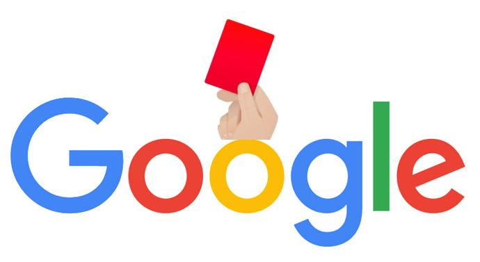 pénalité manuelle widgets Google