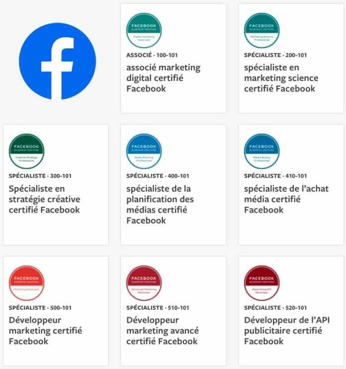 facebook certifications blueprint badges