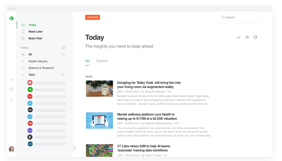 community manager feedly tool