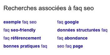 related research faq seo