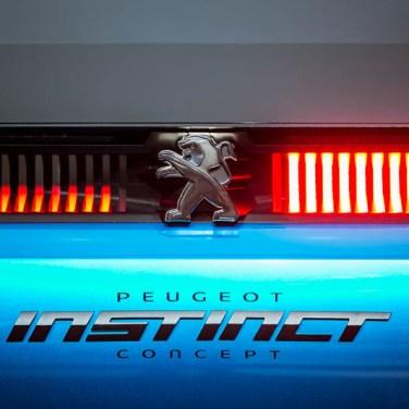 salon de l'auto geneve 2017 Peugeot Instinct arriere