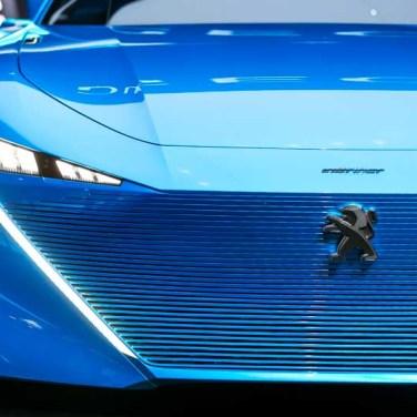 salon de l'auto geneve 2017 Peugeot Instinct avant
