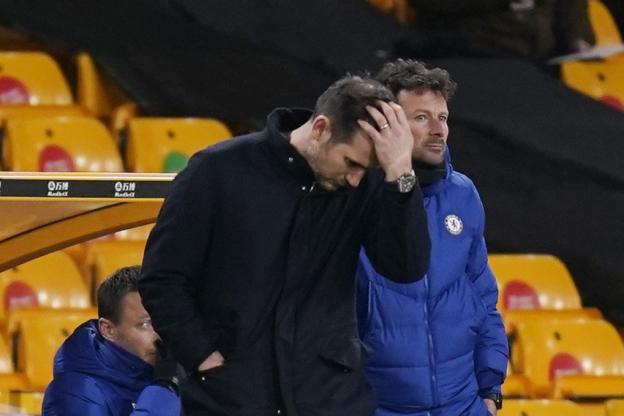 Lampard après la défaite de Chelsea à Wolverhampton. (TIM KEETON/Pool via reuters)