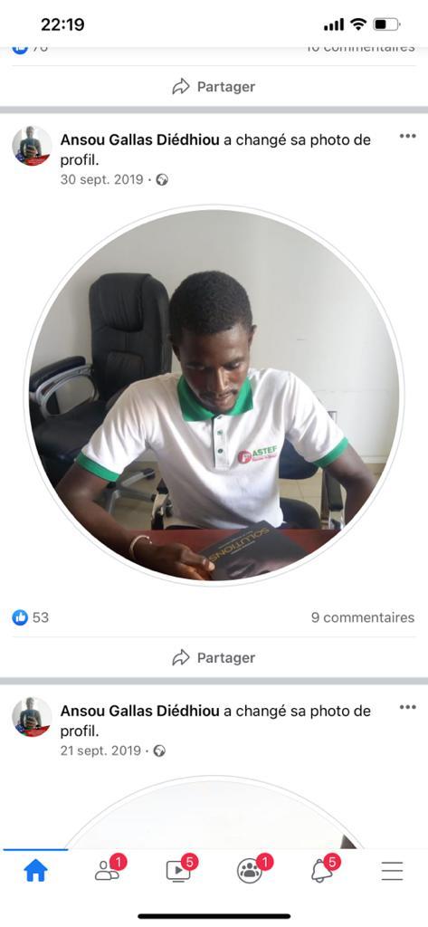 Un étudiant de l'Ucad membre de PASTEF menace de mort la journaliste Maimouna Ndour Faye