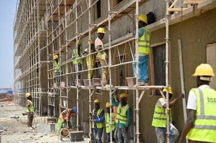 Photos/Université de Diamniadio: La fin du chantier des résidences universitaires, annoncée