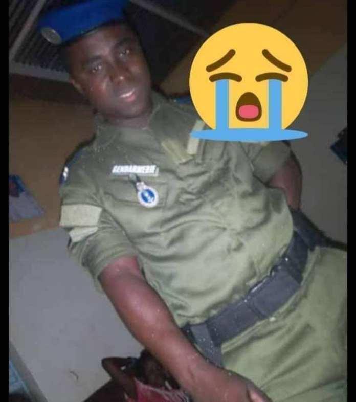 Photos: Le gendarme Lamine Camara, mortellement heurté par un car Ndiaga Ndiaye à Bambey