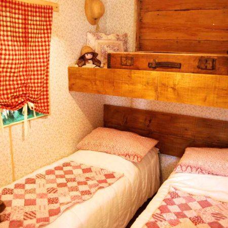 Chambre - Ranch de Calamity Jane - Tipis d'hôtes Languidic Morbihan