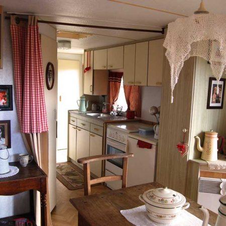 Cuisine gîte - Ranch de Calamity Jane - Tipis d'hôtes Languidic Morbihan