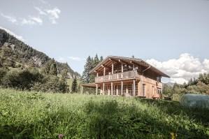 Massivholzhaus Chalet