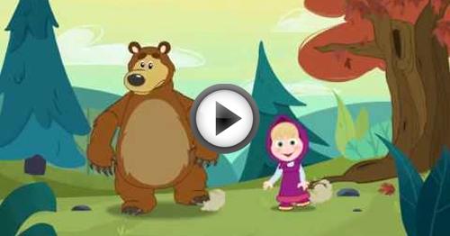 se sei felice tu batti le mani masha e orso