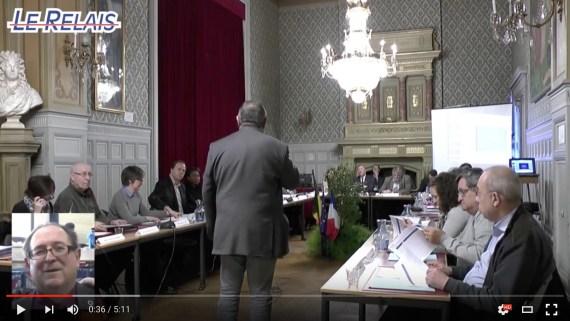 Le Relais Soissons : Jean Marc Auguet félicite Château Thierry