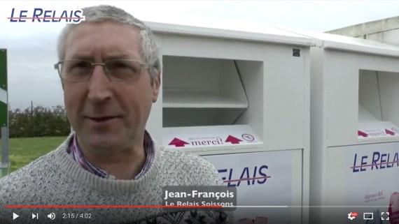 Le Relais Soissons : pose conteneurs à VERTUS