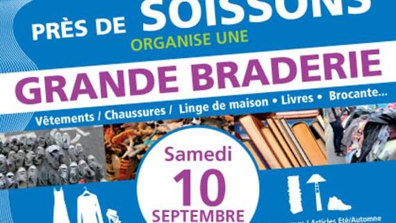 Le Relais Soissons : Braderie rentrée 2016