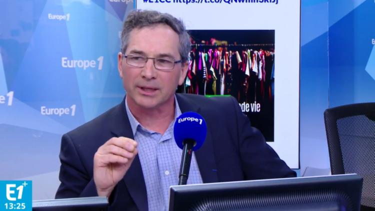 Interview Emmanuel PILLOY Europe 1