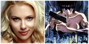scarlett-johansson et ghost in the shell le remake