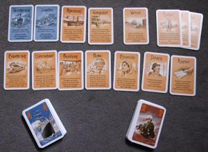 Détail des cartes spéciales ... en allemand !!