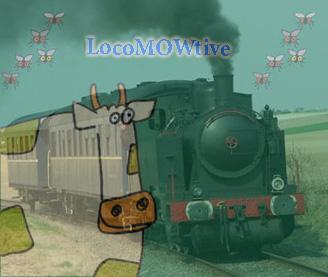 La fameuse loco-Mow-tive (dark-wan) que regardent passer les vaches.