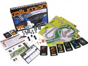 Le contenu de Rallyman