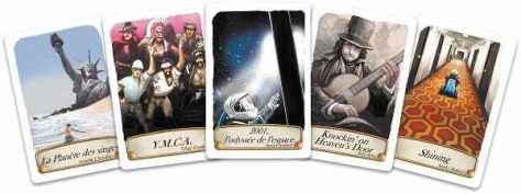 Exemple de cartes musique et cinéma