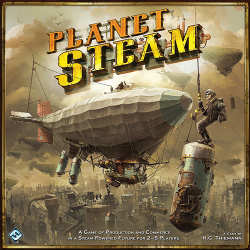 La boite de Planet Steam