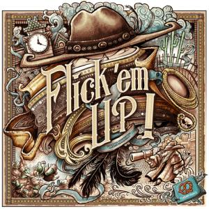 La boite (en bois) de Flick'Em up