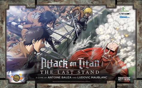 Attack on Titan la boite