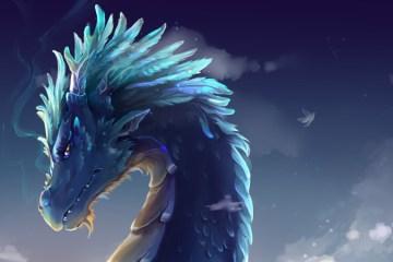 Dragon du Ciel Leliah Den Élévateur des Mondes