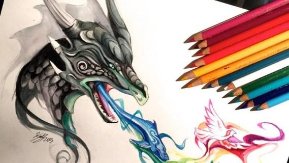 Dragon et le souffle de vie