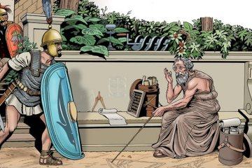 Les principes d'Archimède et la géométrie sacrée draconique