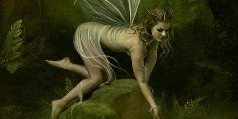 Ballet d'une fée, image féminine, contes et réalités