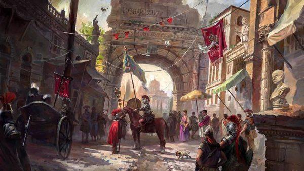 Le voile sombre lors de la chute de l'empire romain