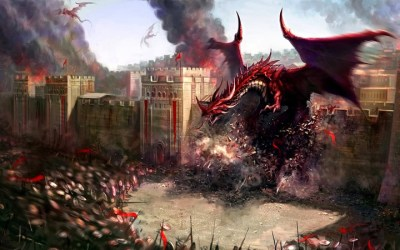 Les dragons rouges ou l'armée de l'offensive
