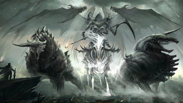 Les trompettes de l'apocalypse et les sept sceaux