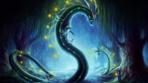 Vouivre femme dragon femme serpent légendes et mythes