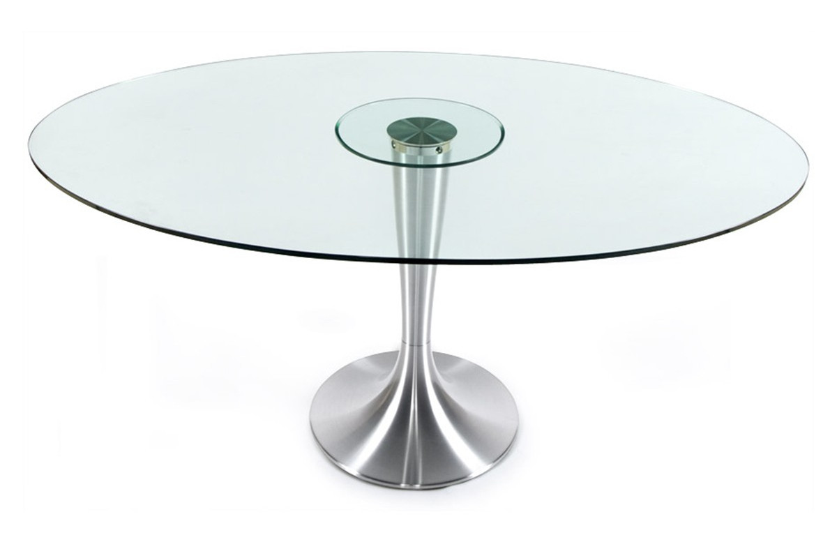 table salle a manger ronde design 6 personnes kokoon design