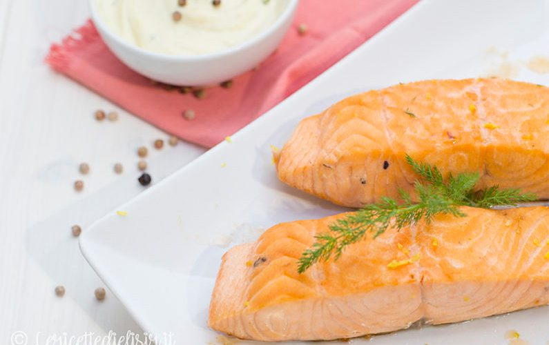 Filetti di salmone in padella ricetta facile