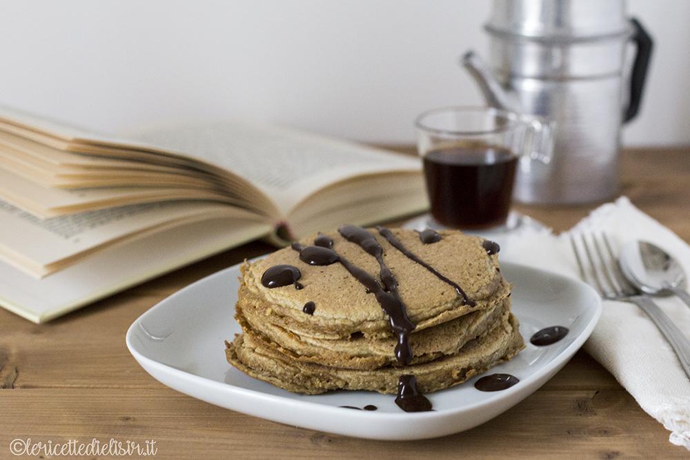 Pancakes al caffè soffici le ricette di elisir