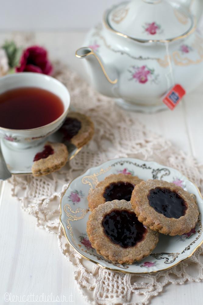 Biscotti integrali alla marmellata le ricette di elisir