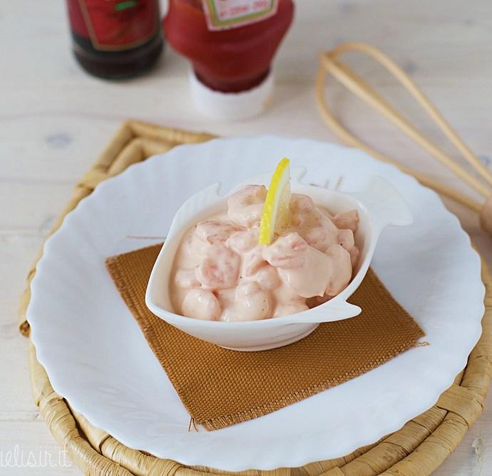 Gamberetti in salsa rosa