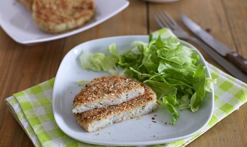 Burger di pesce persico (Fish burger)