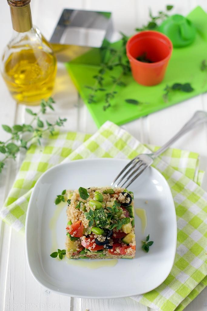 Insalata di quinoa fresca estiva le ricette di elisir