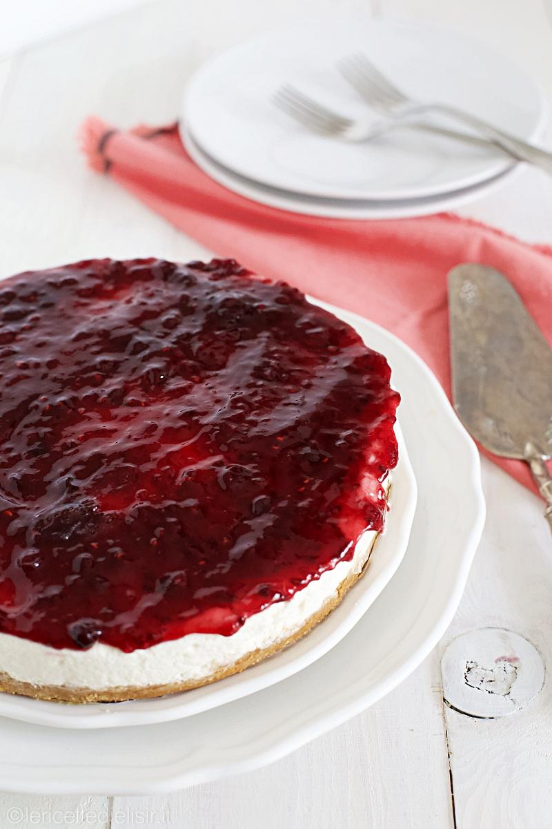 cheesecake ai frutti di bosco 3 - Cheesecake ai frutti di bosco fredda