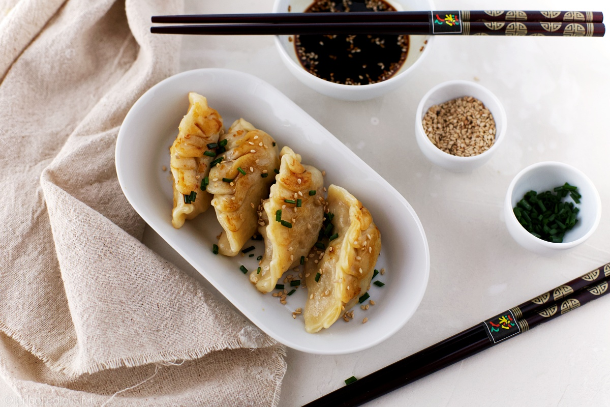 ravioli cinesi - Ravioli giapponesi gyoza