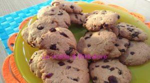 Cookies vegan ai mirtilli rossi