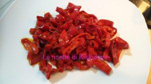 rondelle di peperoni rossi