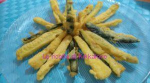 bastoncini di zucchine in pastella
