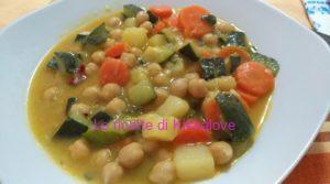 zuppa di verdure a basso contenuto di nichel