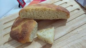 Pizza pane di semola con licoli